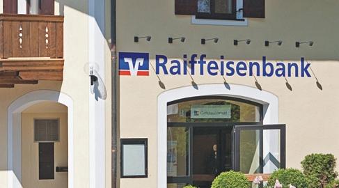 Unsere Anprechpartner Geschäftsstelle Dietramszell, Raiffeisenplatz 2, 83623 Dietramszell